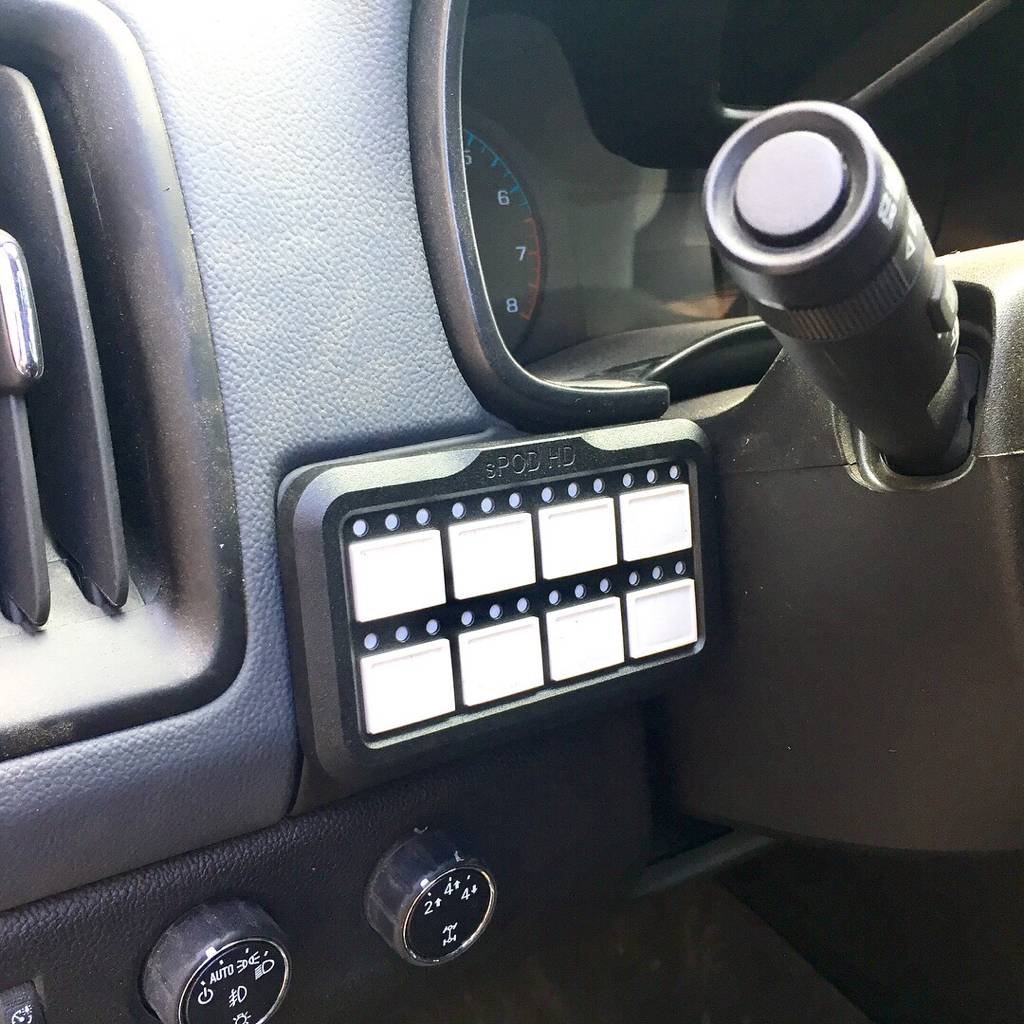 Lets see your switch setups?? - Page 6 - Chevy Colorado ...