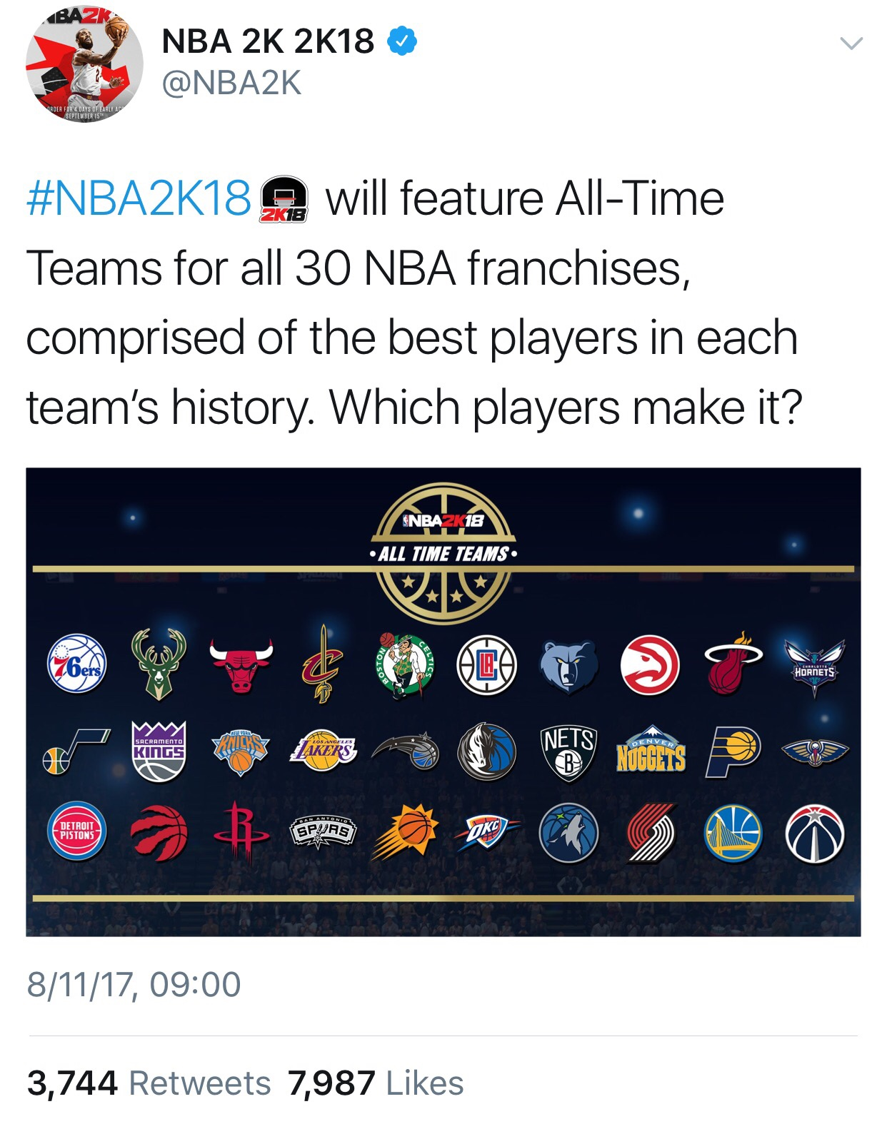NBA 2K18 All-Time Jazz Team | JazzFanz com