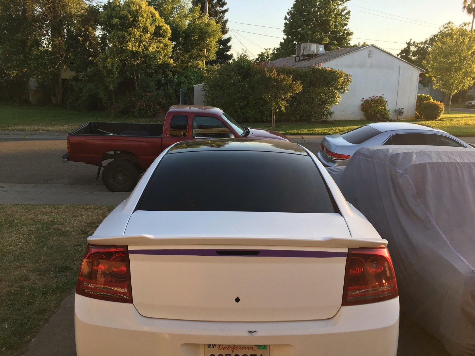 PRIMERED FACTORY STYLE HELLCAT SPOILER FITS 2011-2018 DODGE CHARGER