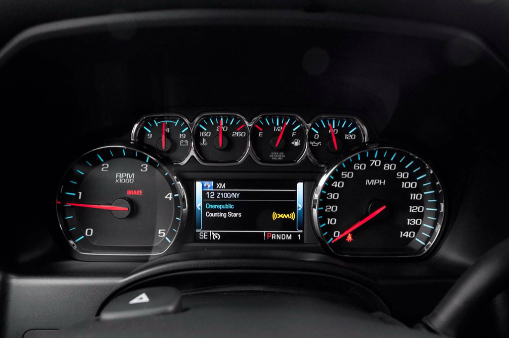 Digital cluster from sierra in loaded silverado? - Chevy ...