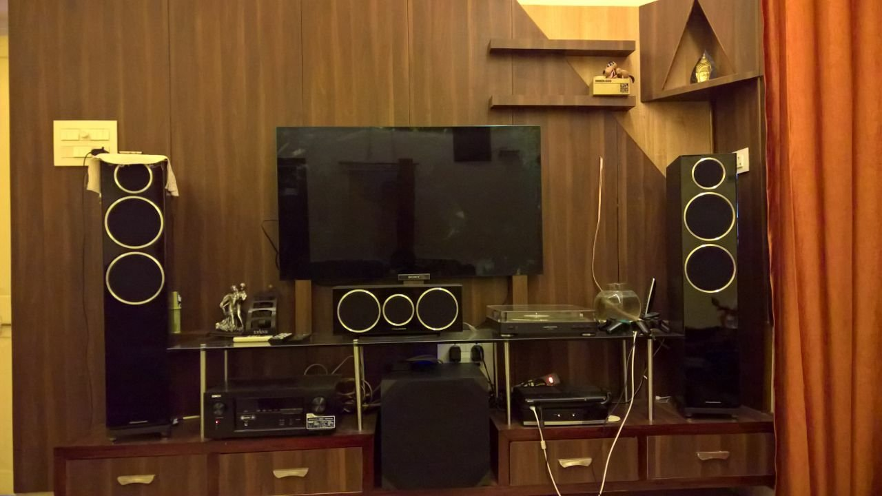 512 Setup With Denon Avr X3300w Wharfedales Diamond 230 It Was A Thrilling Experience I Am Putting Up Few Pics Of My Shall Update After Watching Some Dolby Atmos Content