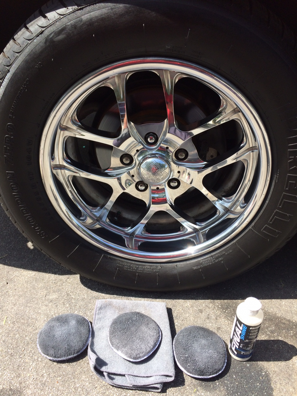 How To Polish Aluminum Wheels >> Polishing Aluminum Wheels