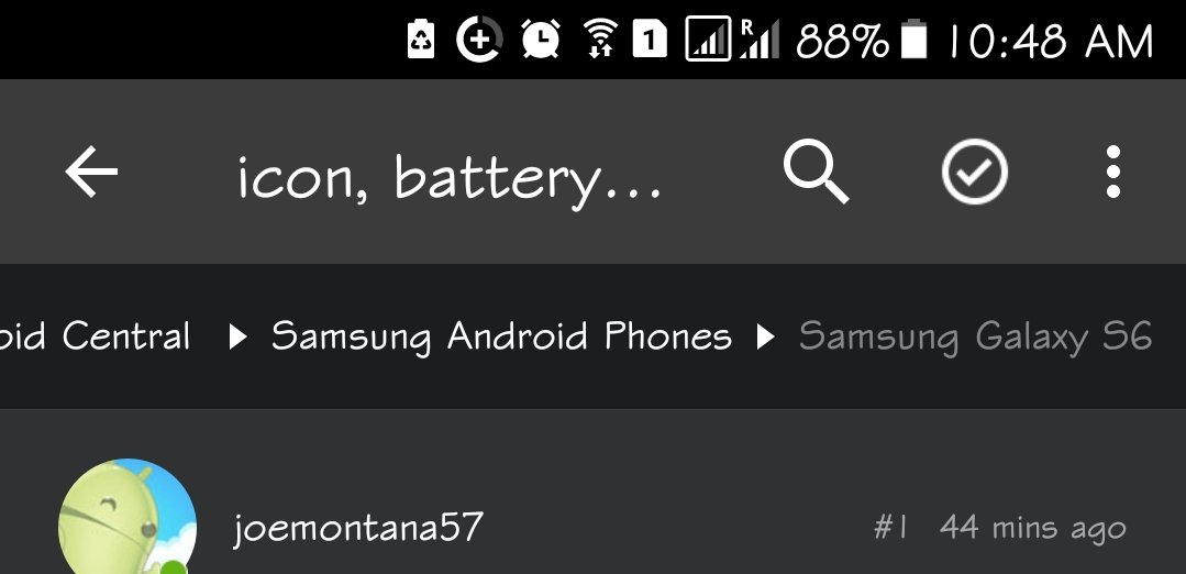 Icon Battery With A Star Android Forums At Androidcentral