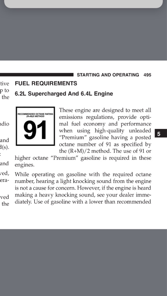 Ethanol free and race gas - Page 3