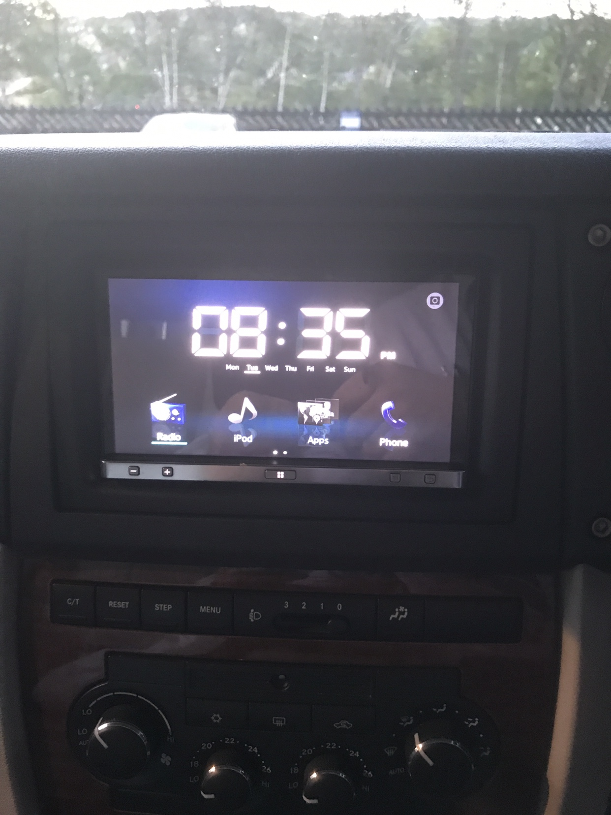 Jeep Commander Mfd Screen Club Wiring Harness The Is Expensive But Worth Expense You Can Get It For Your Specific Head Unit I Have Put A Pioneer App Radio In Mine