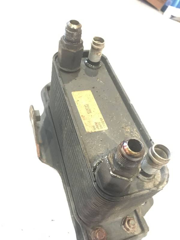 torque Converter Cooler installed backwards ? - Dodge
