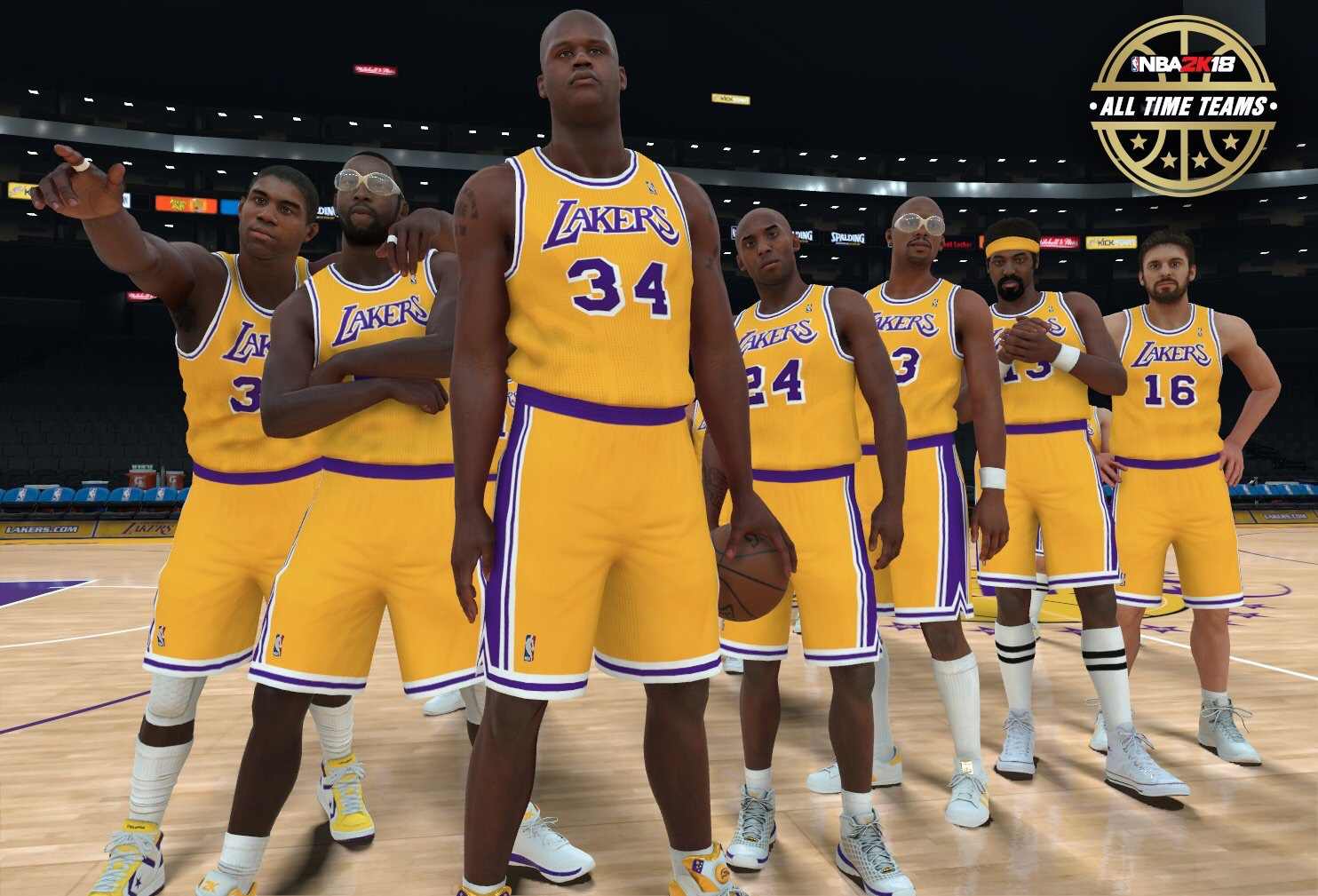 01b0f335a08 NBA 2K18 Adding 16 More Classic Teams