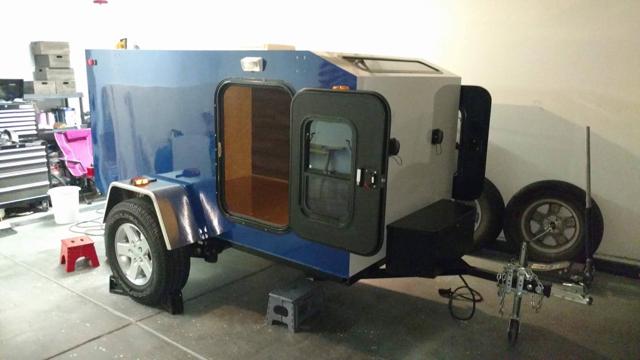 2017 Off road homebuilt square back trailer $4000 obo, Las Vegas NV
