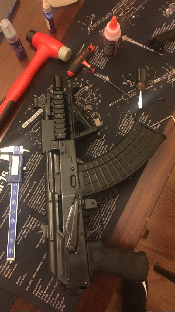 WTS: Storm Werkz folding mechanism with AR tube adapter and