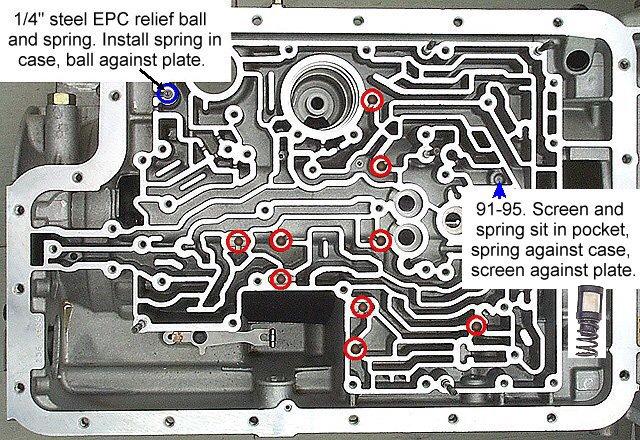 e4od valve update help ford bronco forum e4od transmission wire diagram for 201  e4od and separator