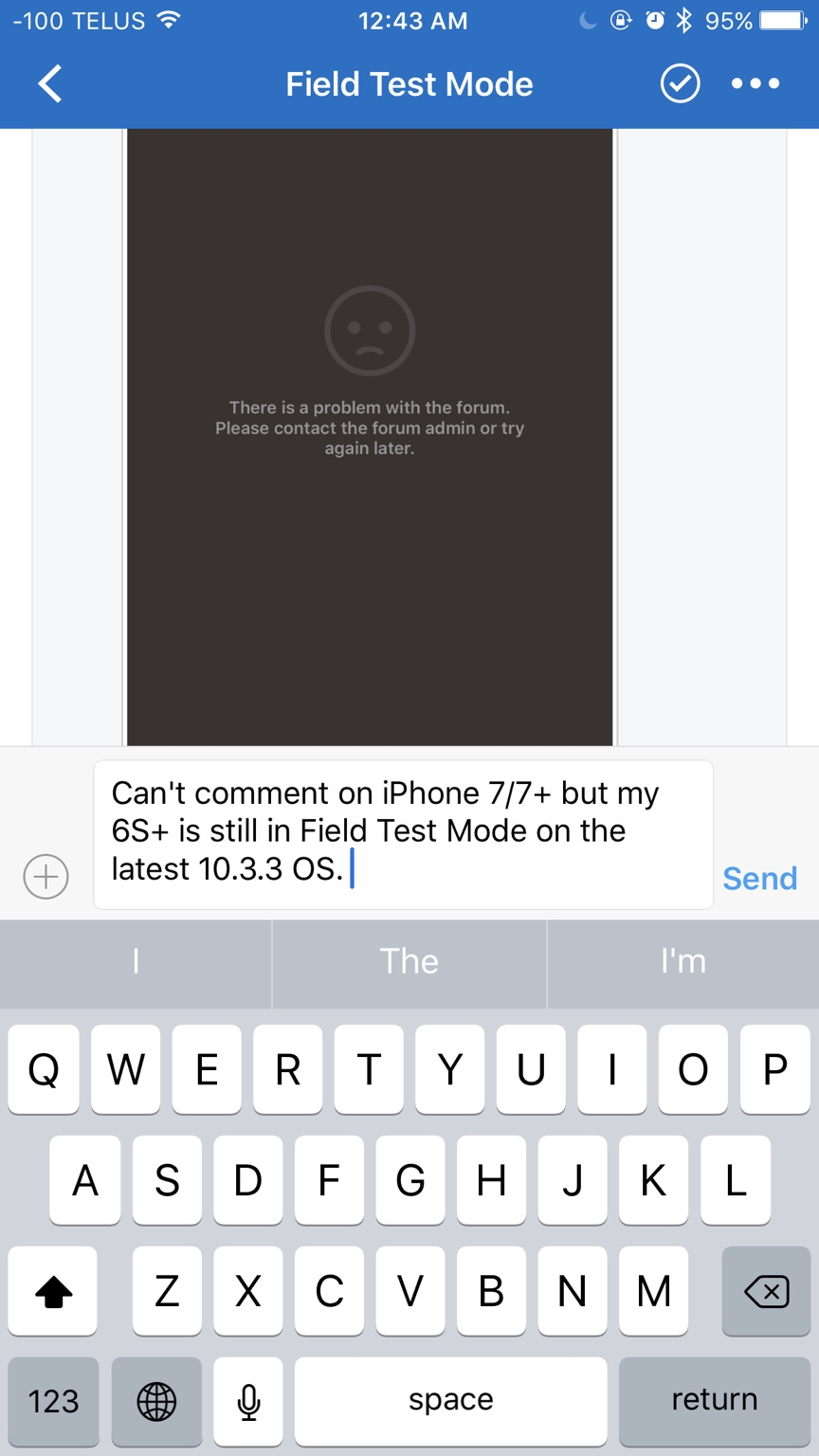 Field Test Mode - iPhone, iPad, iPod Forums at iMore com