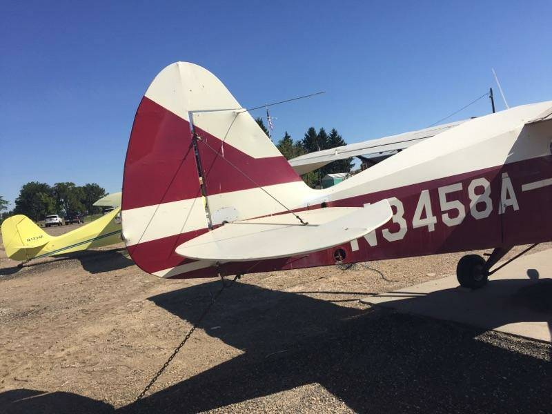For Sale 1953 PA-22-135 with fresh O-320
