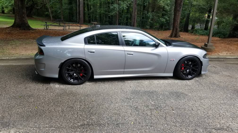 17 Charger Hellcat >> Lowered my 2017 Scat Pack Charger - H&R 50888 Springs - Page 2