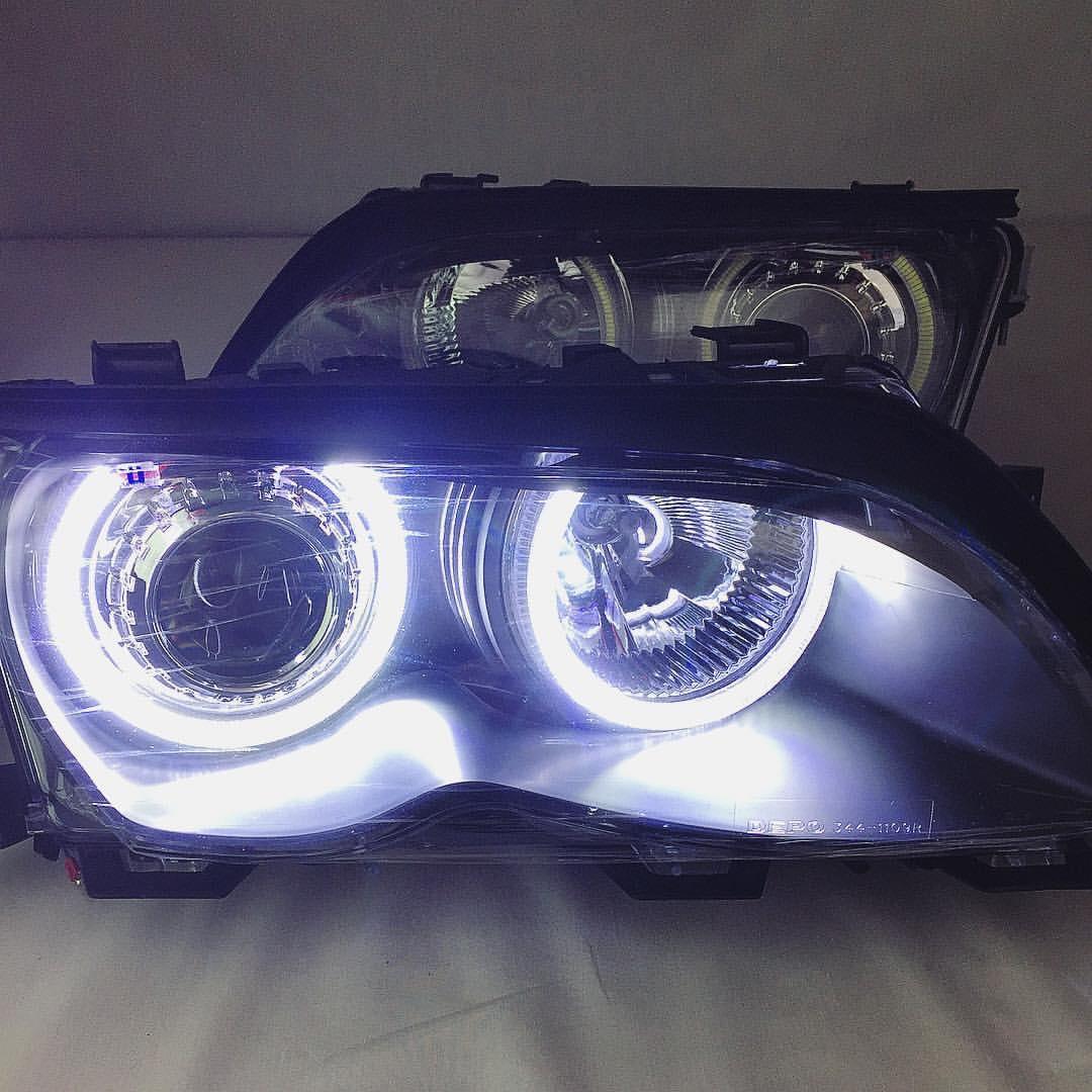 Umnitza Bmw E46 Facelift Sedan Touring Projector Headlights With Led Angel Eyes Bmw E46 Fanatics Forum