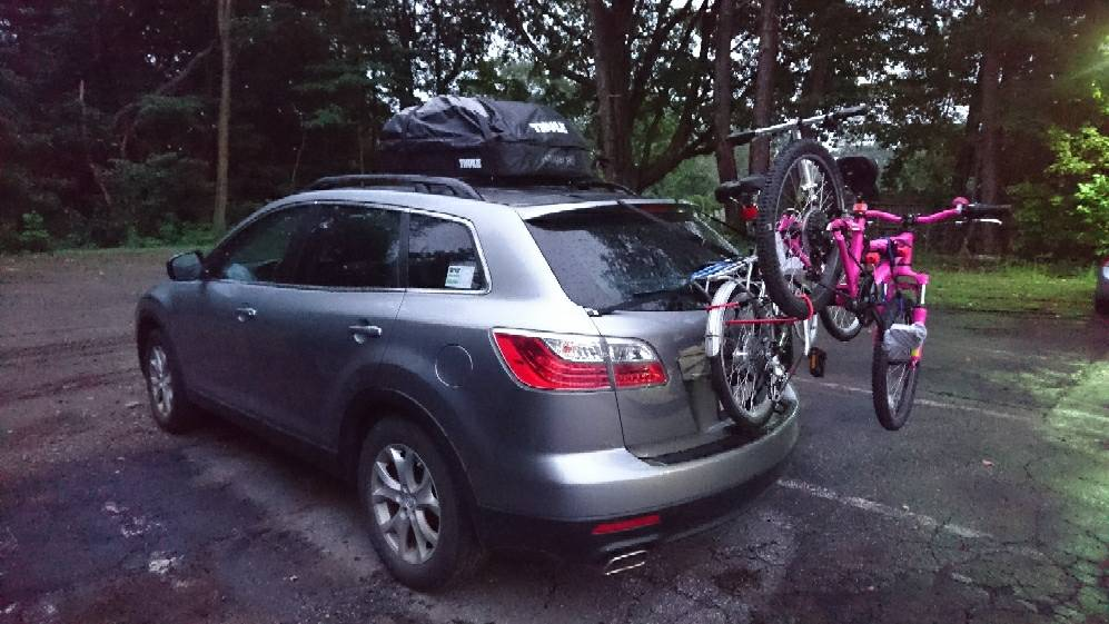 So Here It Is With The Allen Sports Deluxe Trunk Mount 3 Bike Carrier Installed Https Www Dp B00trtsgba 7s3prtkoz59qr Super Le