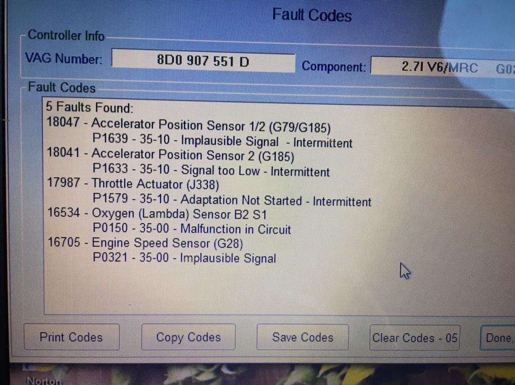 S4 hesitation at 4K revs - RS246 com Forum :: The World's #1 Audi R