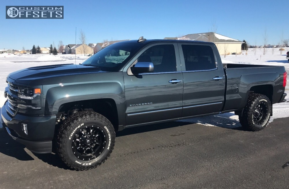 What color option is this - 2014 - 2018 Chevy Silverado