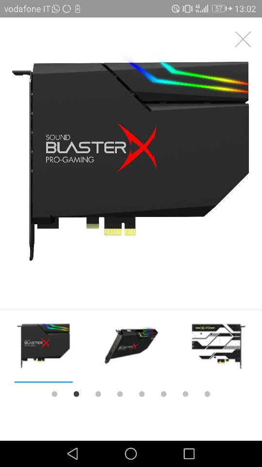 Nuova Sound BlasterX Ae-5 - Hardware Upgrade Forum