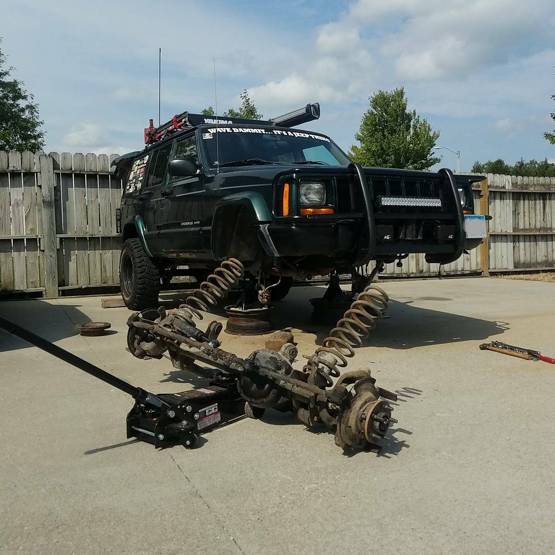 What Did You Do To Your Xj Zj Wj Today Page 1452