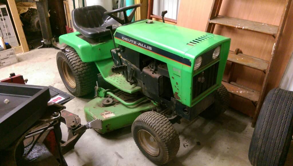 Deutz Allis 917H Garden Tractor - Swap Meet (Non-Jeep) - Delaware
