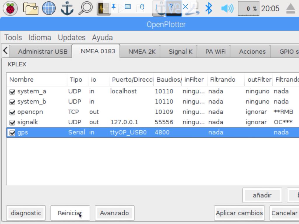 Openplotter y Raspberry Pi para no iniciados - Página 31 - La