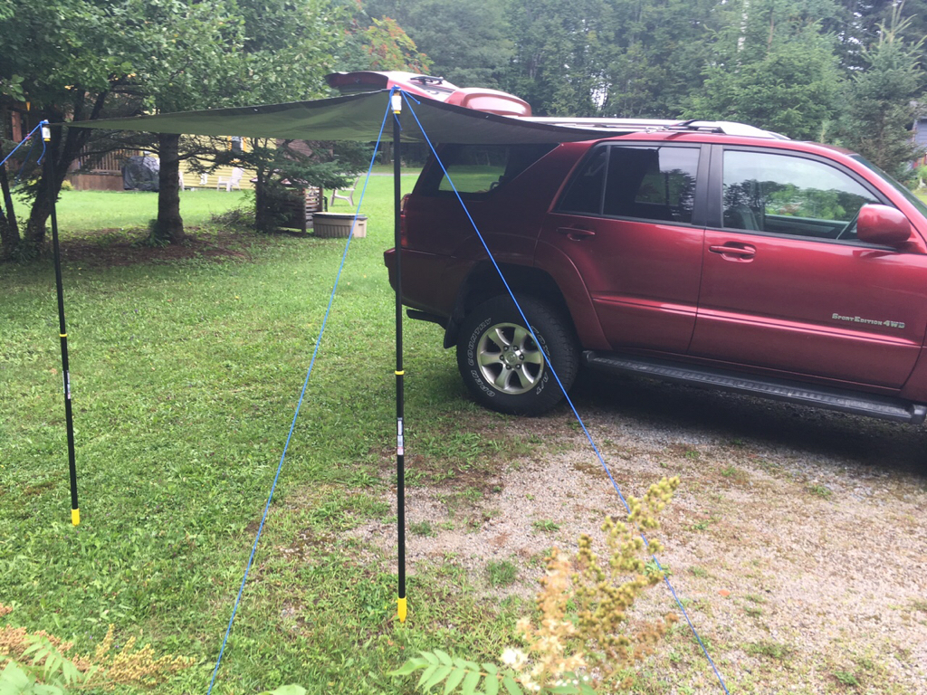 DIY Awning in a bag - with pics - Toyota 4Runner Forum