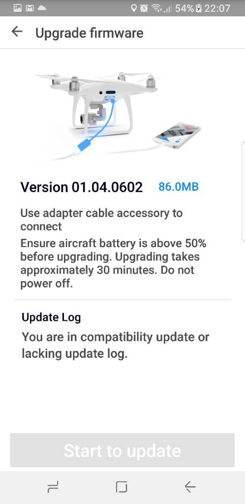 Phantom 4 pro firmware update issue   DJI Phantom Drone Forum