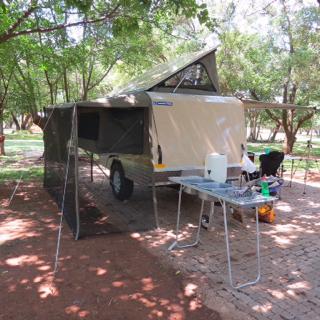 Self build offroad caravan with unbrake 640kg Tarre & Gvm