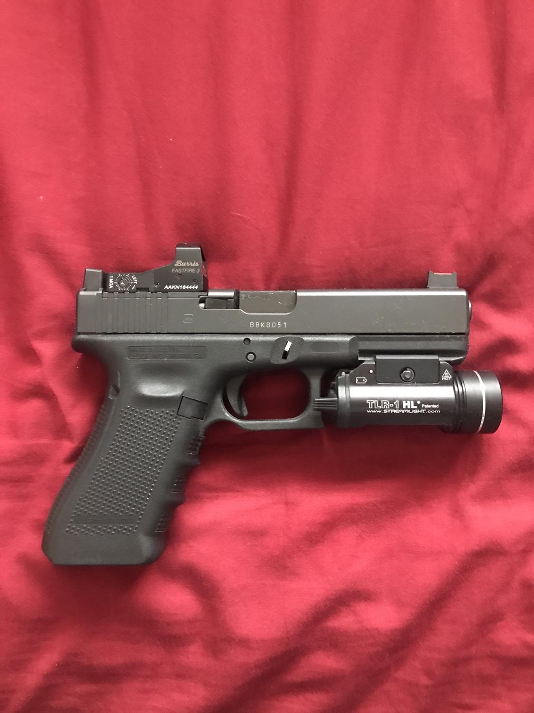 WTS: Glock 17 MOS Burris FF3