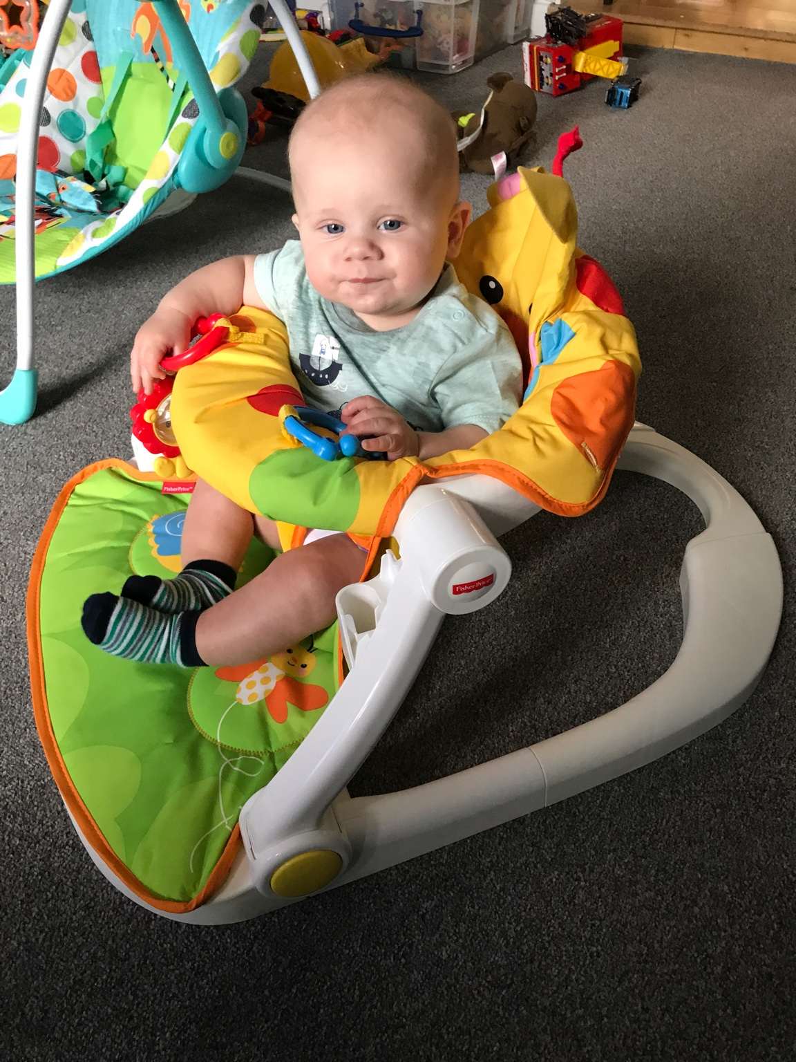 I Recommend The Giraffe Seat Too My Son Loves It We Bought When He Was Around 3 Months Got From Argos Not Sure On Price