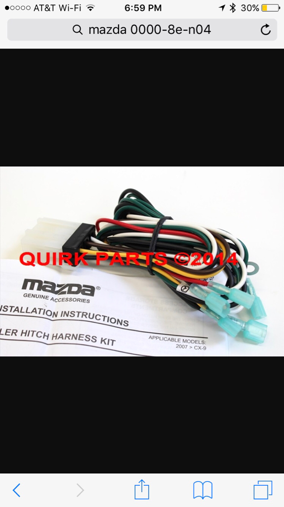 cb6d44ab846ace30db700d07e71cc2bd help 2010 mazda cx 9 towing wiring harness  at alyssarenee.co
