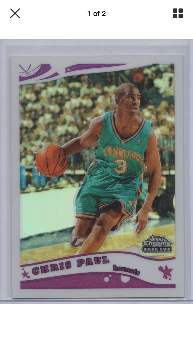 2005 Topps Chrome Chris Paul - What to do  - Blowout Cards Forums 312aabf7c