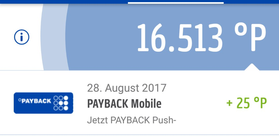 Payback konto deaktiviert