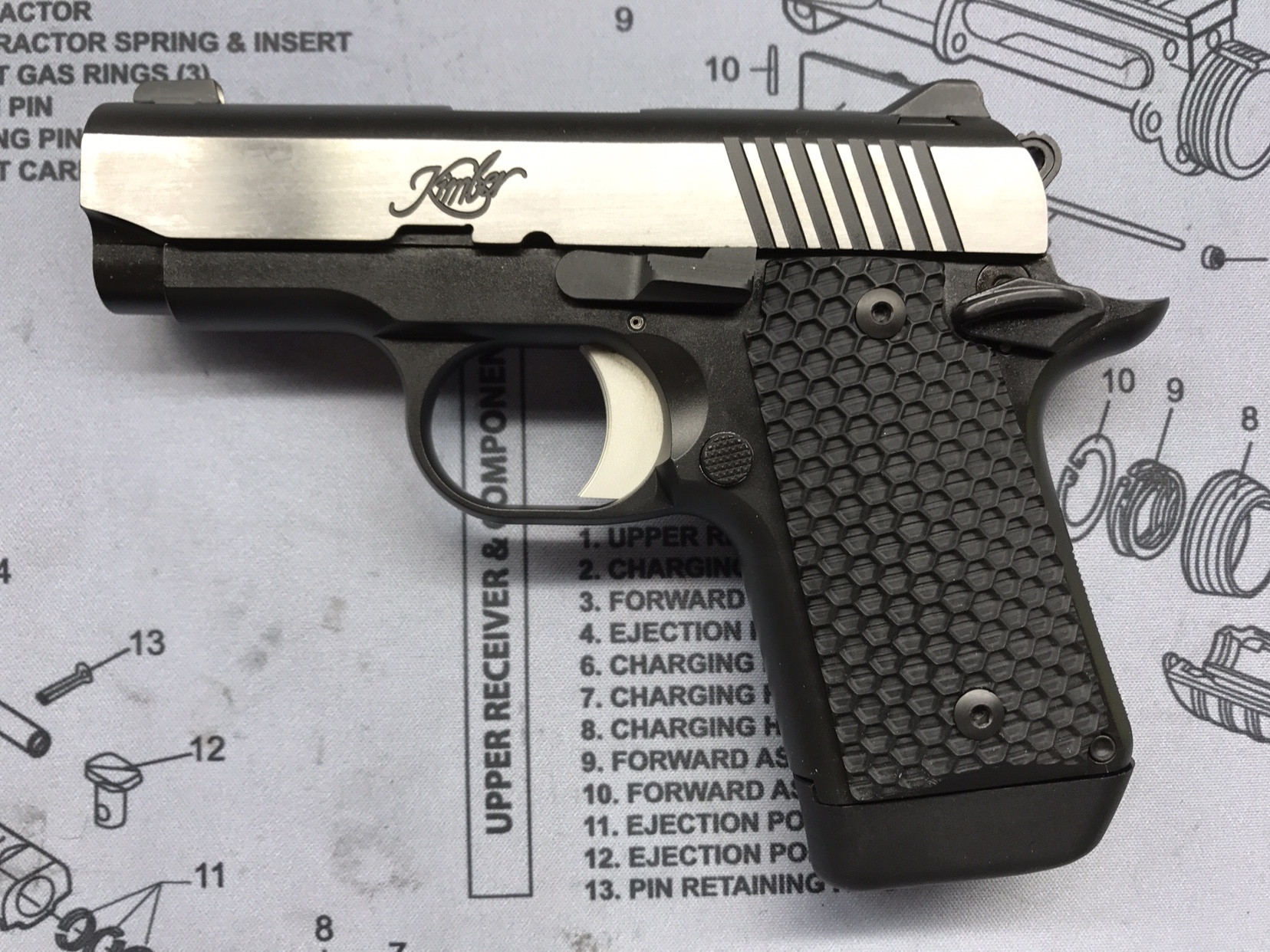 Changed Grips on my Micro 9 - Kimber Forum