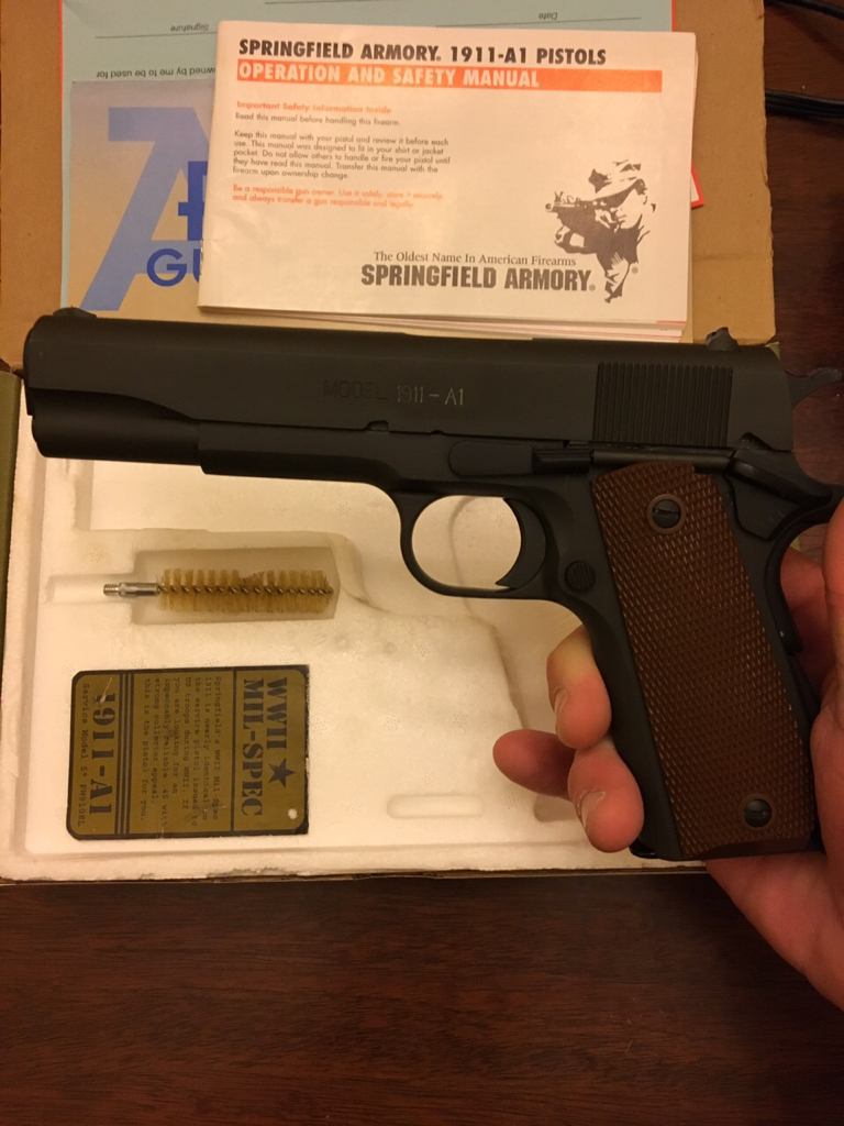 SOLD: *PRICE DROP*Springfield WWII Mil-Spec 1911-A1 Edition