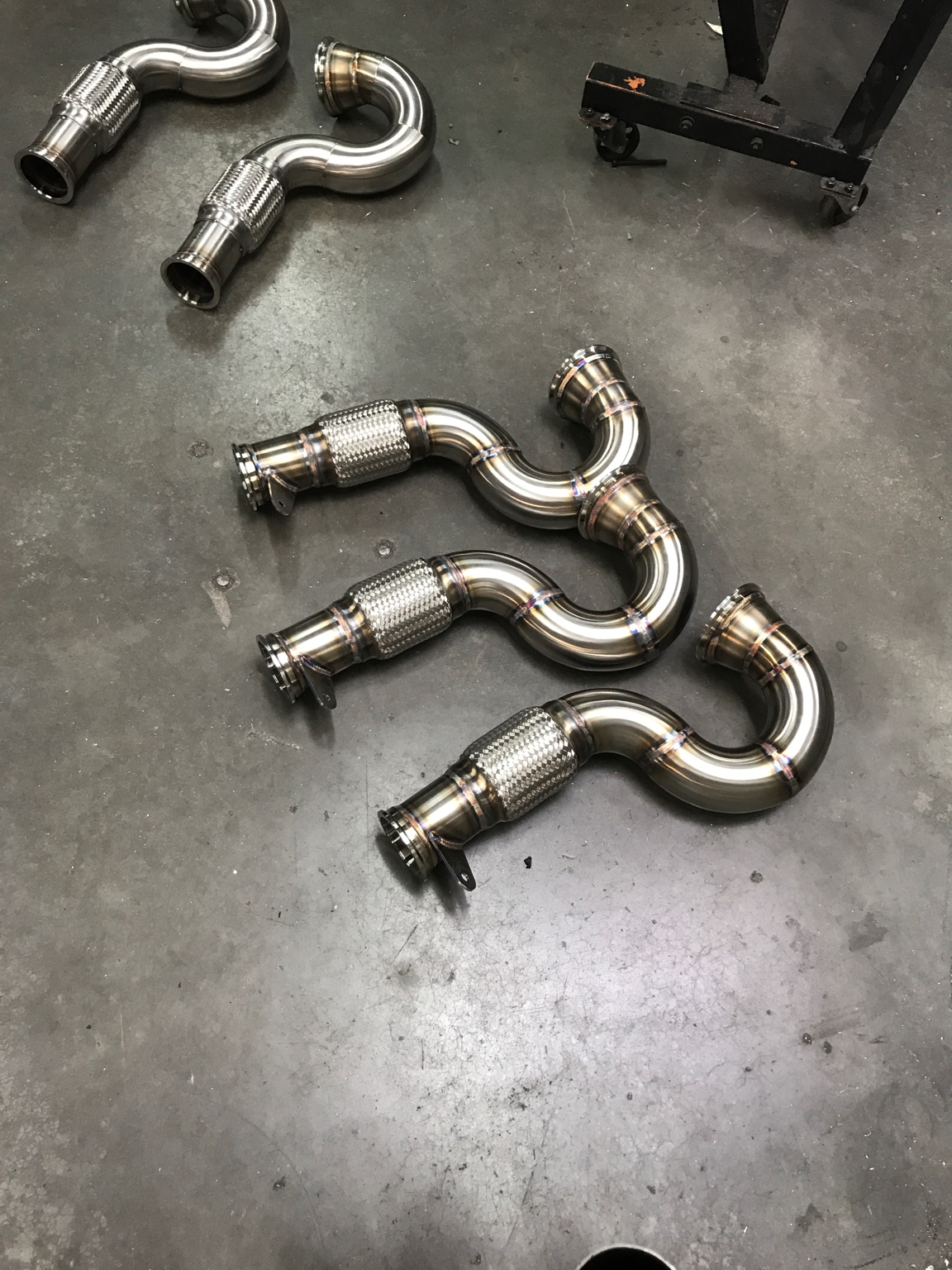 RS3 Iroz downpipes [Archive] - Audizine Forums