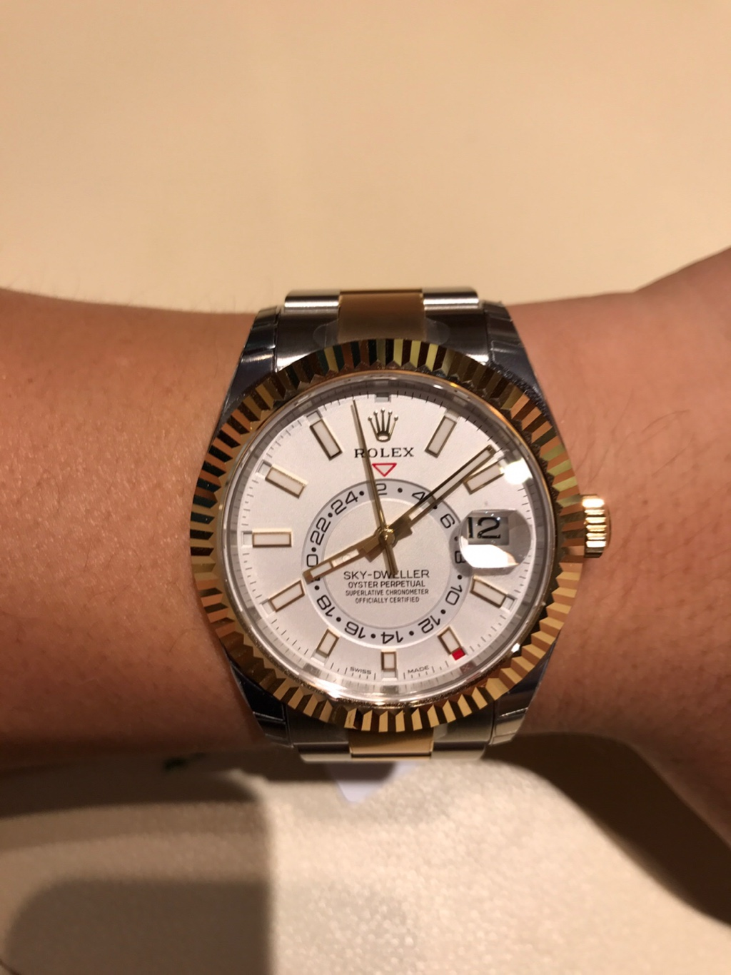 Two tone skydweller , Rolex Forums , Rolex Watch Forum