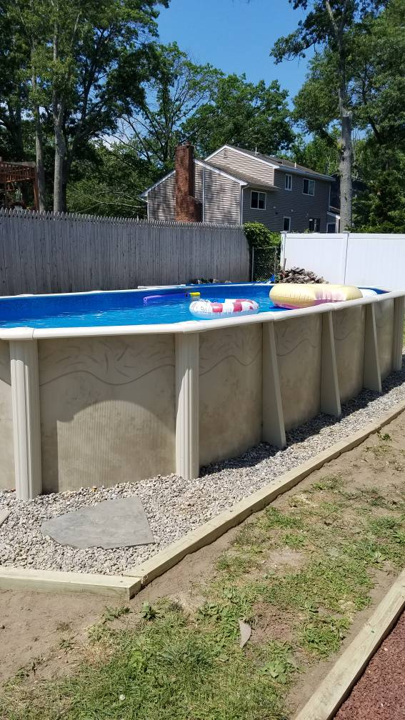 What is the best material to put around an above ground for What s the best above ground pool