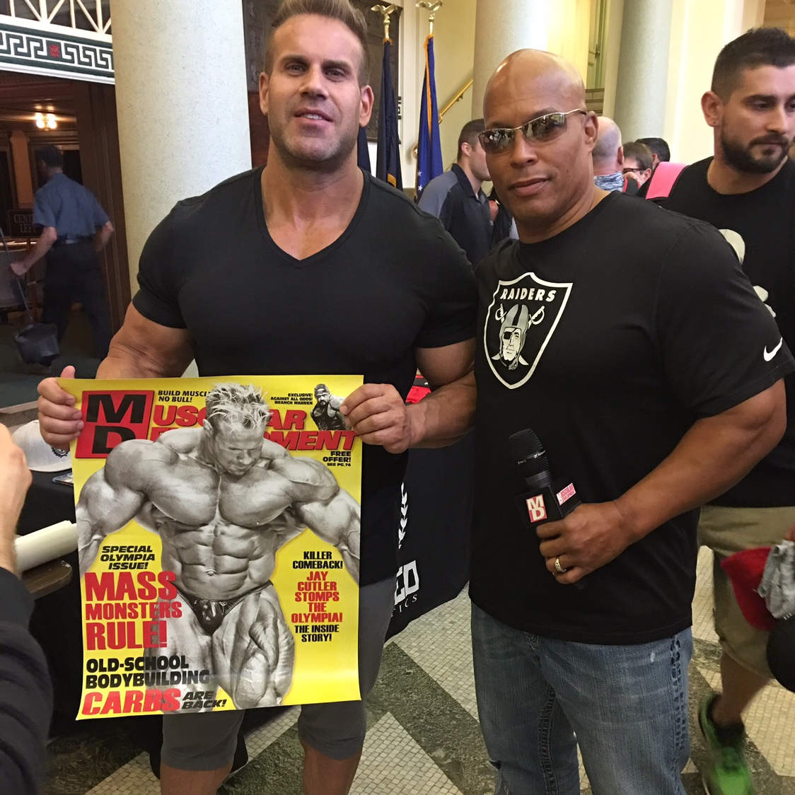 Shawn Ray Resigns From Muscular Development