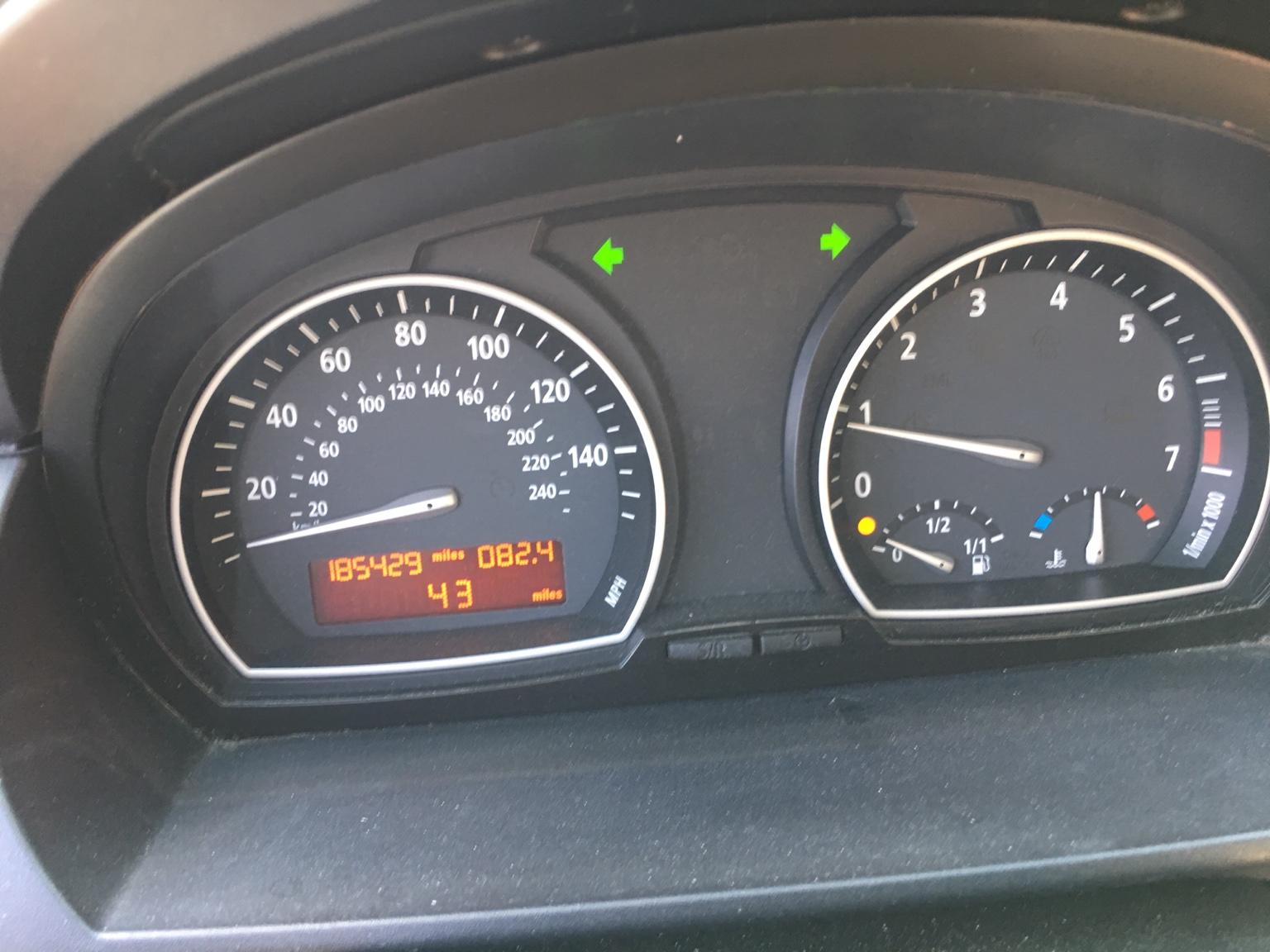 BMW 2005 X3 ran out of gas 1/4 tank on gauge - Bimmerfest