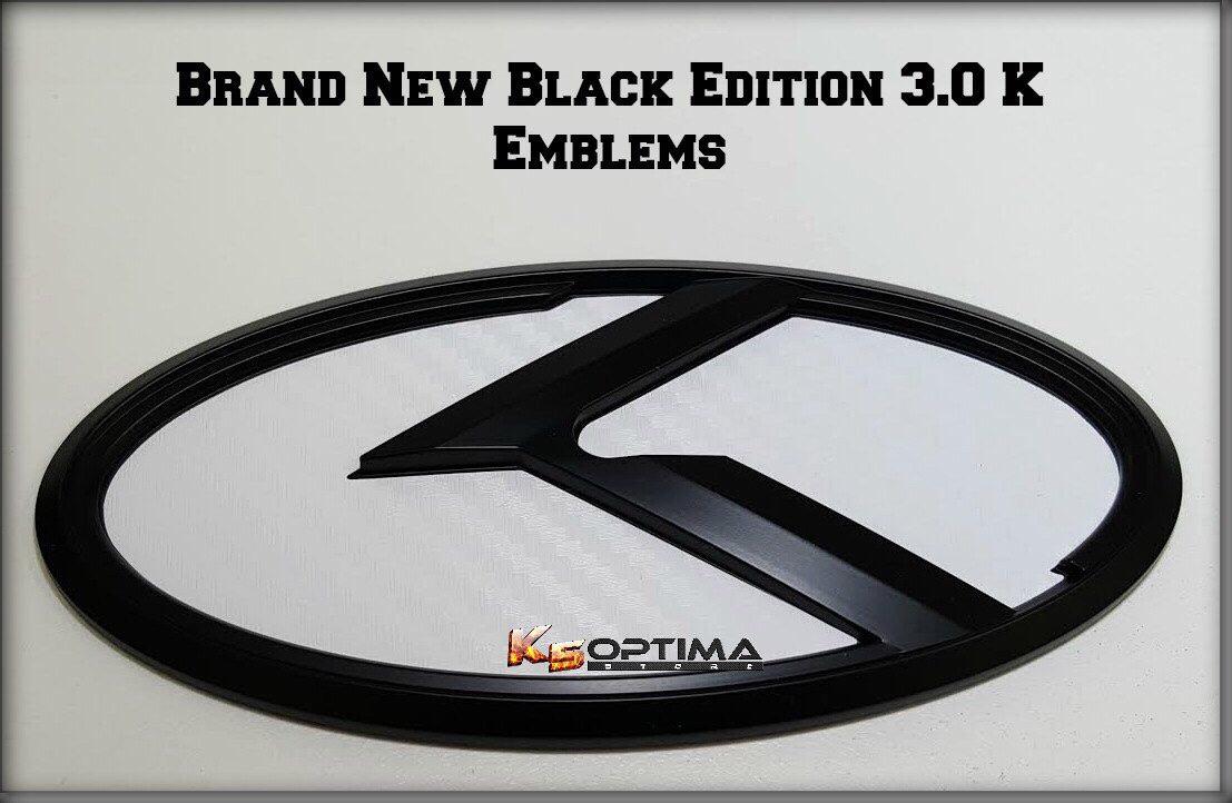 Vendorfs Brand New Black Edition Kia 30 K Emblems K5 Optima