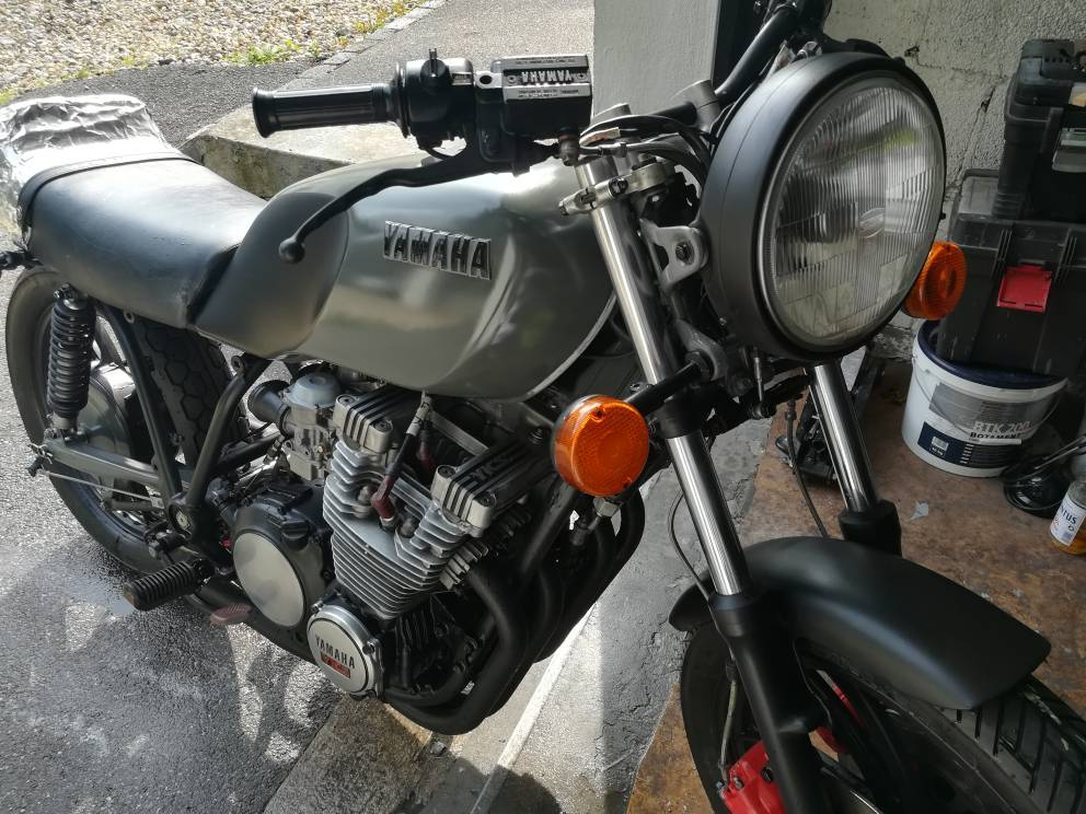 Yamaha» Ecke Heilbronn, Umbau XJ650 - Seite 2 - caferacer