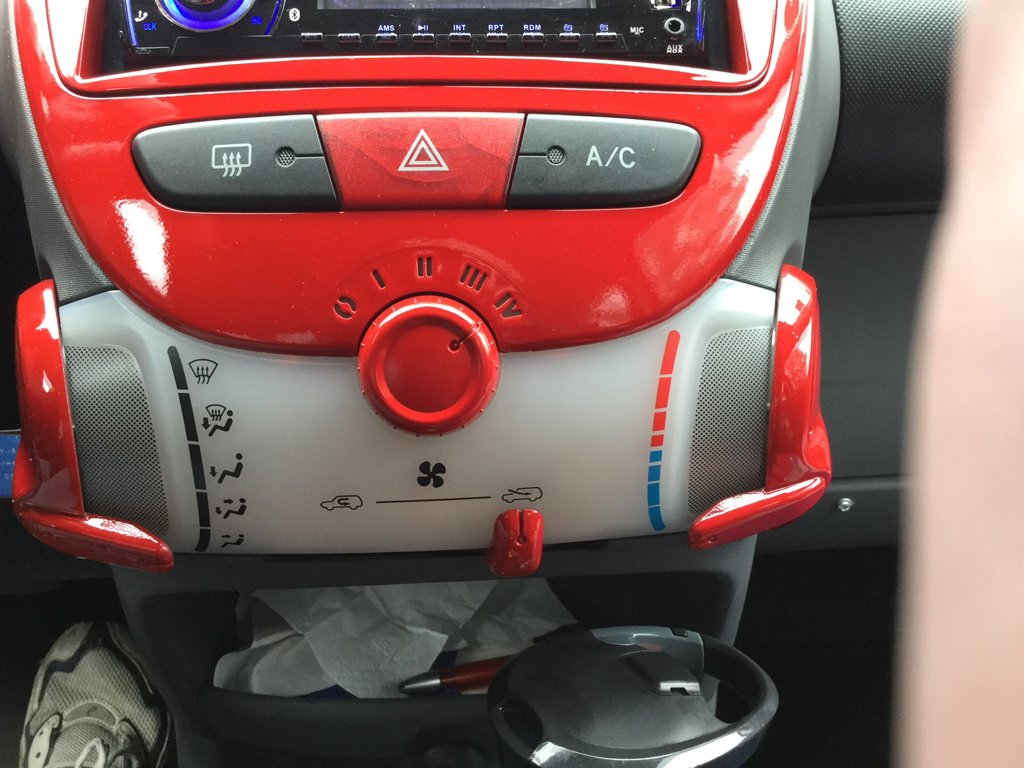 Aygo heater blower stopped working