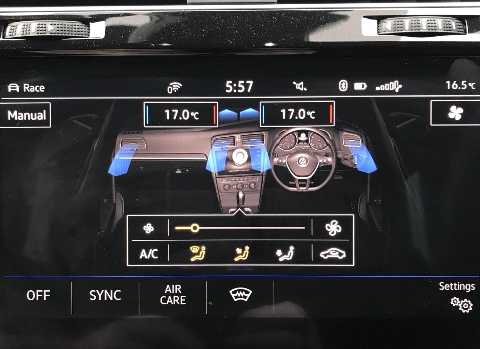 Climate Screen Question - VW Golf R MK7 Chat - VWROC - VW R