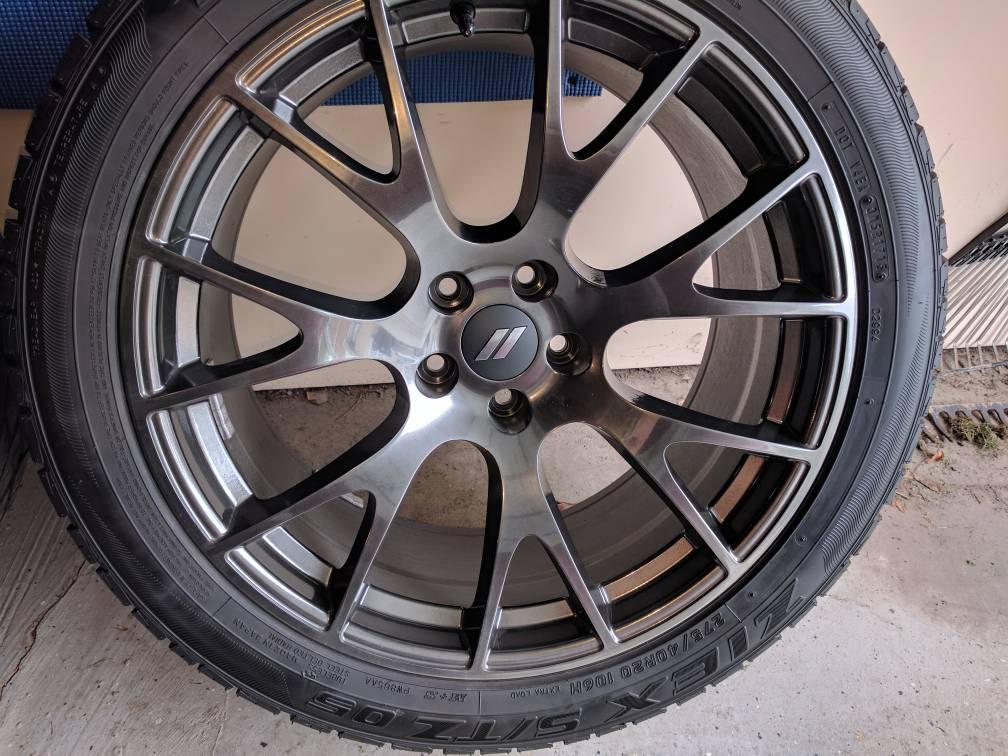 2017 2018 Srt Hyper Black 20x9 5 Rims Dodge Challenger