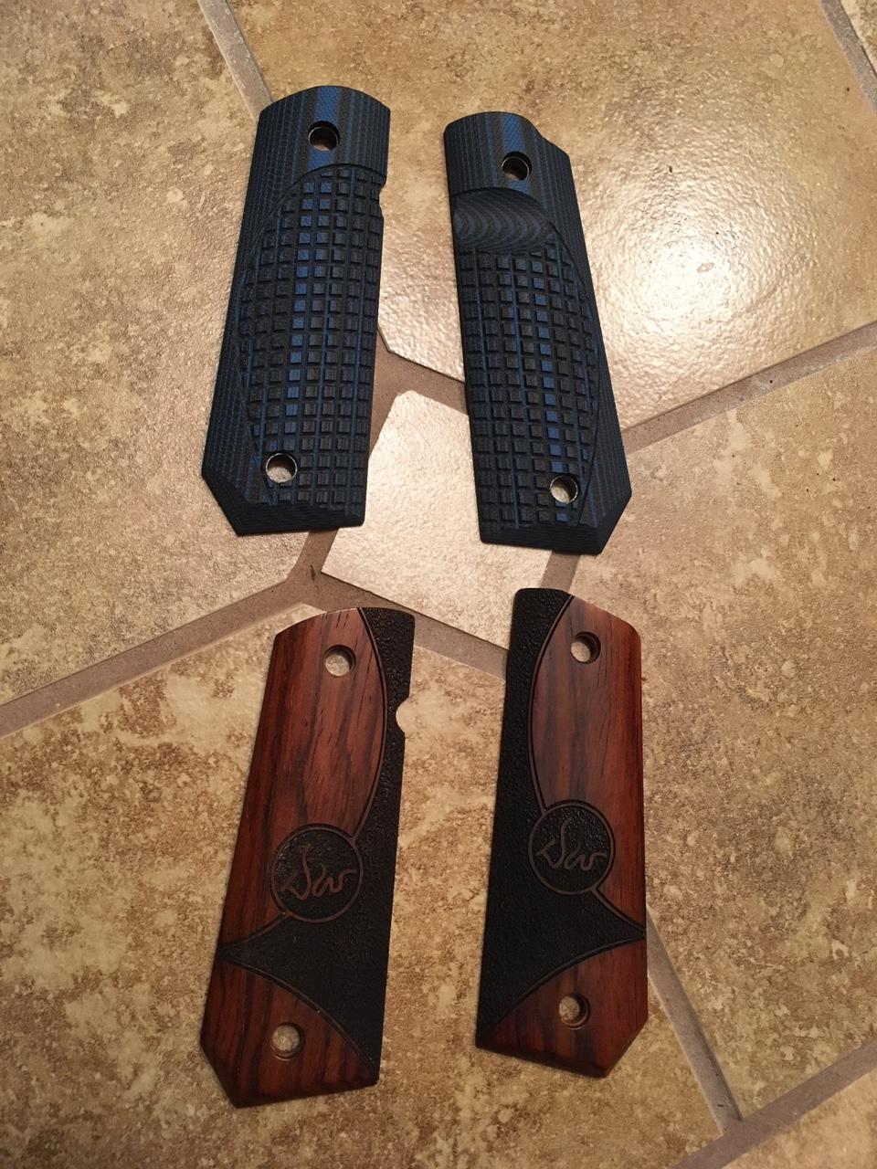 1911 grips, VZ and Dan Wesson - Calguns net
