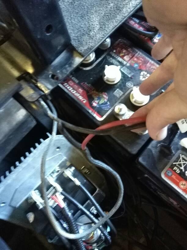 ezgo mtp workhorse wiring question