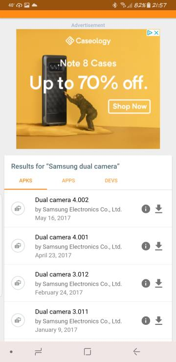 apk mirror samsung dual camera