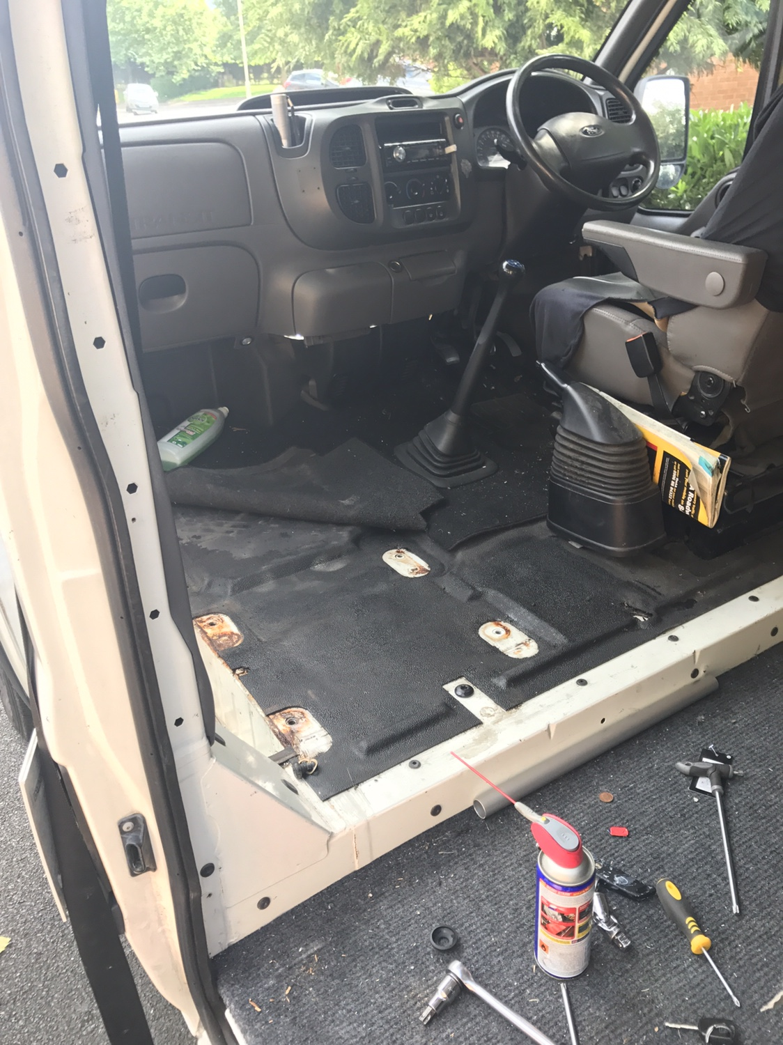 single passenger seat for ford transit