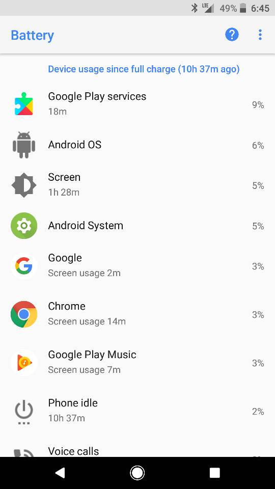 Battery Life After Oreo Page 3 Android Forums At Androidcentral